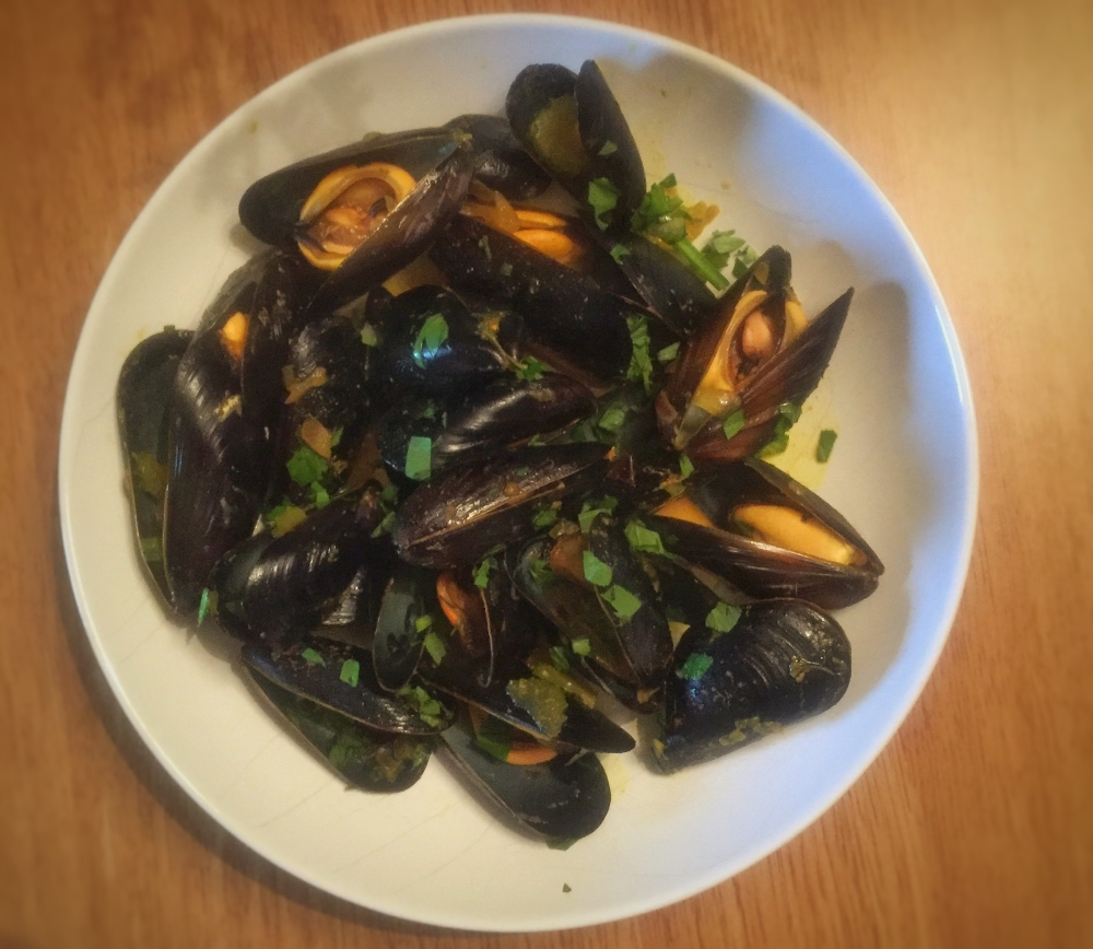 Spicy Mussels Pic