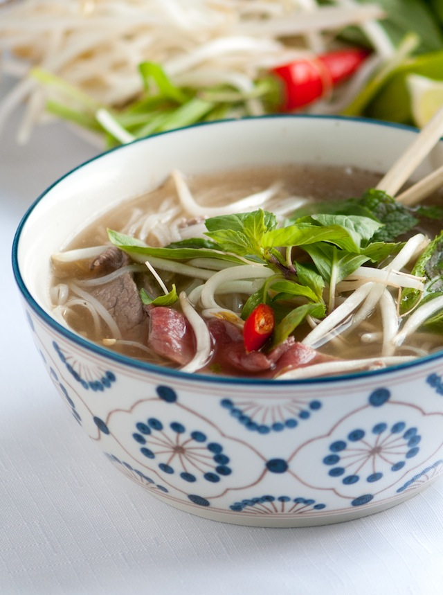 Quick & Easy Authentic Vietnamese Pho (Raw Beef Noodle Soup)